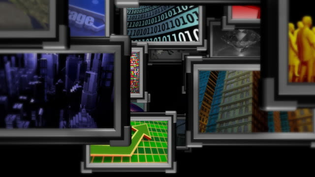Loopable, Fly Through Multimedia,  Information Medium, Television, Broadcasting, Display video