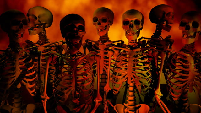 Loopable, Halloween Hell Skeletons video