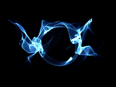 loopable light streak background animation video