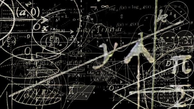 ループできる演算記号の旅からカメラをご利用いただけます。 - 数学の授業点の映像素材/bロール