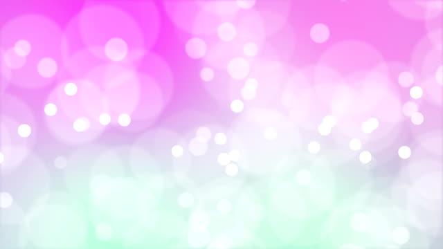 ループの移動粒子 - ピンク色点の映像素材/bロール