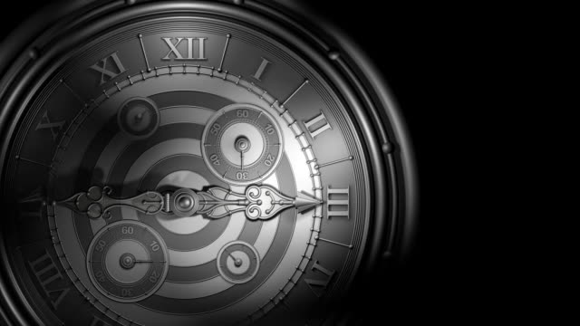 Loopable, Old Style Clock, Time Flies video
