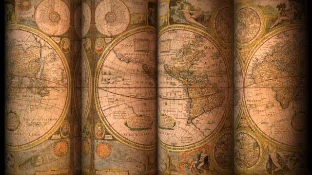 Loopable, Old World Map video