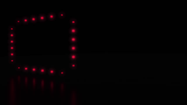 Loopable rectangles light show