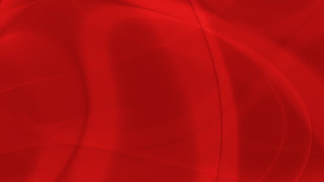 Loopable, Red Abstraction Soft Curves Abstract video