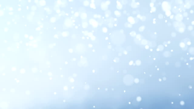 loopable snow animation - snowflake background stock videos & royalty-free footage