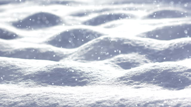 Loopable Snow Landscape video