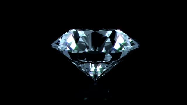 loopable parlak elmas - elmas stok videoları ve detay görüntü çekimi