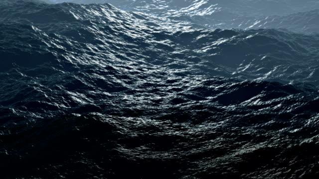 Loopable: Storm Sea / Rolling Waves / Ocean Storm video