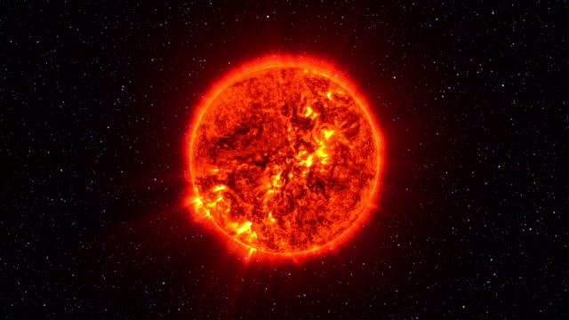 Loopable: Sun Surface With Solar Flares video