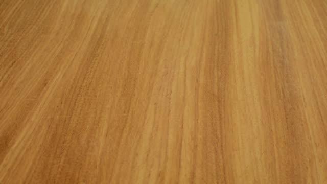loopable wood texture - tavolo legno video stock e b–roll