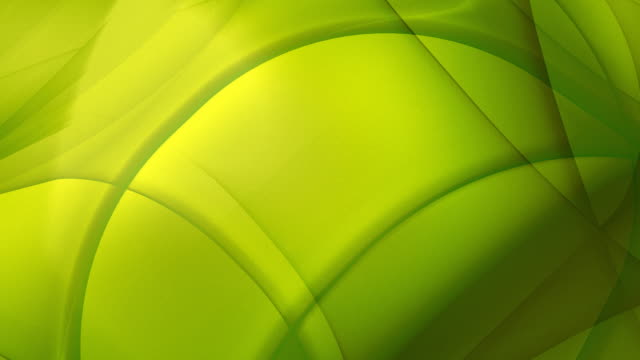 Loopable, Yellow-Green Geometric Abstraction video