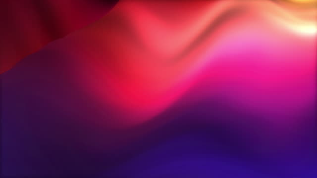 Looped abstract colorful background abstract motion background with smooth wavy surface colored in shades of blue and violet, looped 4k digital backdrop multi colored background stock videos & royalty-free footage