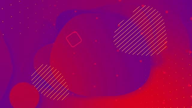 looped sıvı renkli mavi kırmızı renk animasyon. popüler modern soyut mor arka plan. - kare i̇ki boyutlu şekil stok videoları ve detay görüntü çekimi