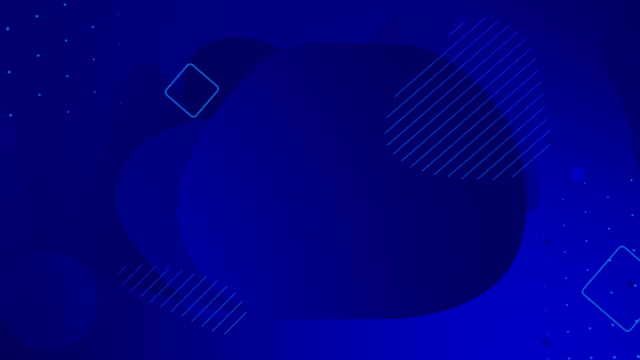 Looped liquid navy blue color animation. Popular modern dark abstract background.
