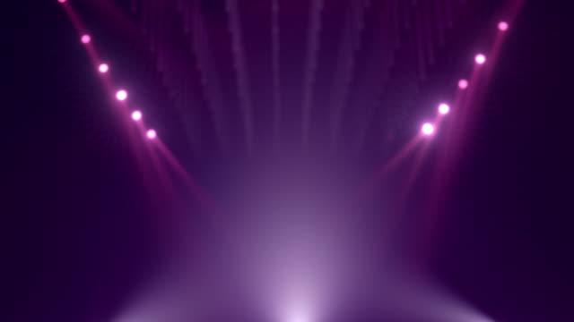 stockvideo's en b-roll-footage met achtergrond van looped purple defocused mockup - aankondigingsbericht