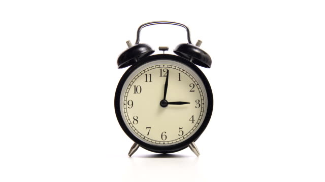 looping alarm clock video