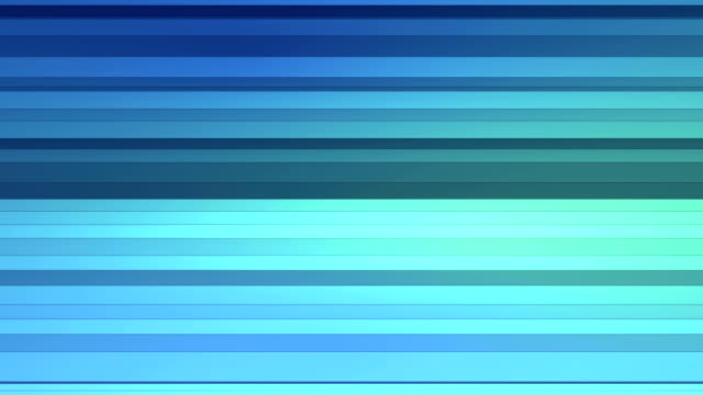 Looping background folding blue polygon strips video
