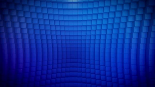 Looping Blue Cubes video