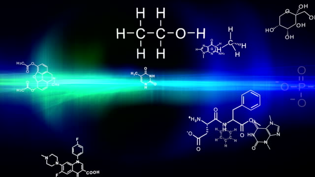 Looping Chemistry Background video