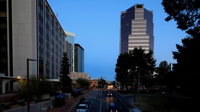 Looping day to night timelapse of Tucson, Arizona, United States