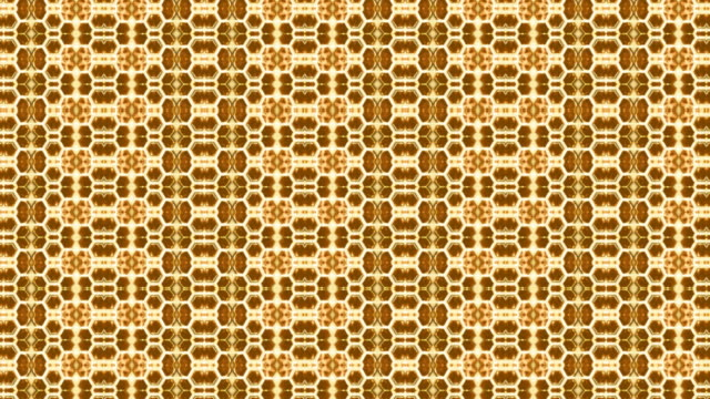 looping honeycomb kaleidocsope - small details - art deco architecture stock videos & royalty-free footage
