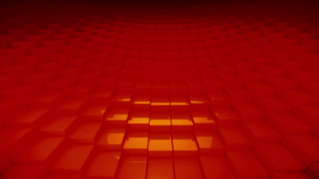 Looping Orange Blocks video