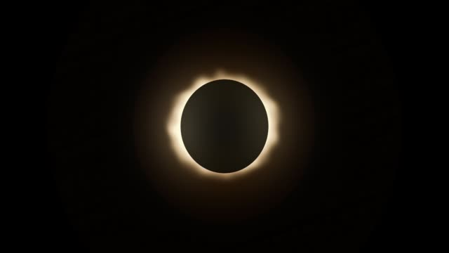 Looping Total Solar Eclipse Sky Element video