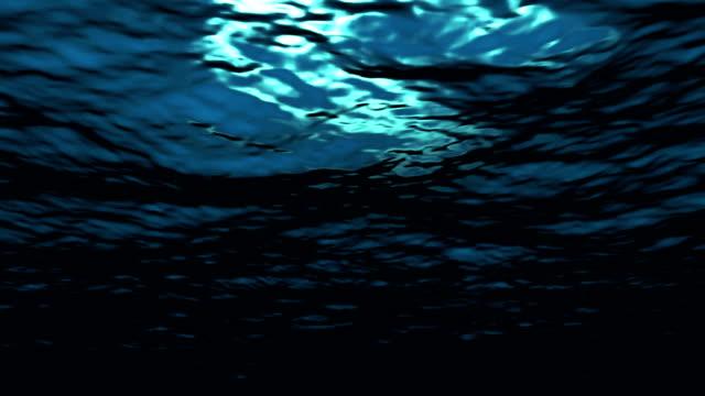 Looping Underwater video