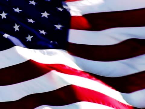 PAL: Looping US Flag. SD Progressive Frames video