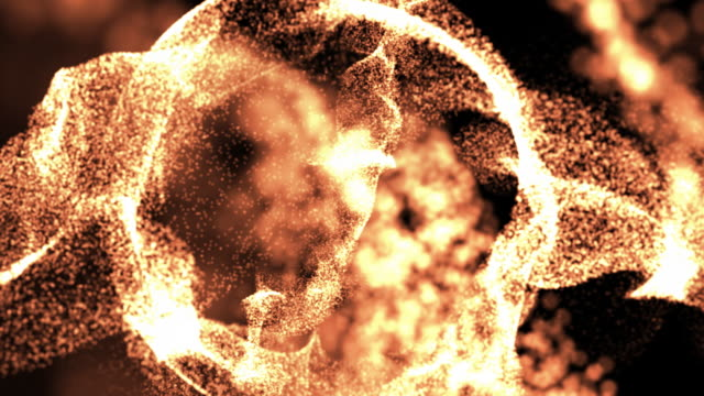TWO HD Loops sphere abstract backgrounds video