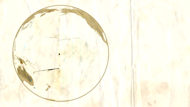Loose Leaf Paper Globe video