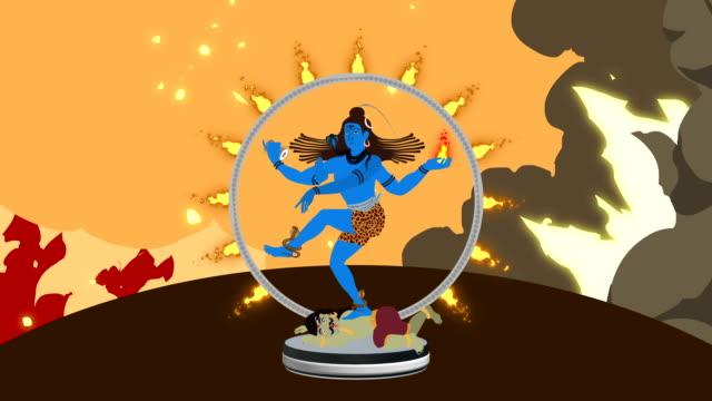 Lord Shiva Crushing Apasmara and Performed the Cosmic Dance of Tāṇḍava video
