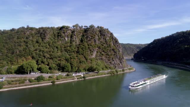Lorelei-Felsen und Rhein – Video