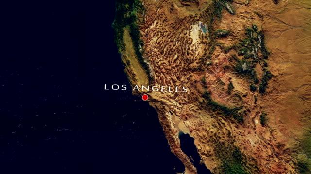 Los Angeles 4K Zoom In video