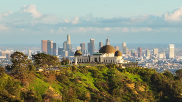 Los Angeles and Griffith Observatory Day To Night Timelapse video