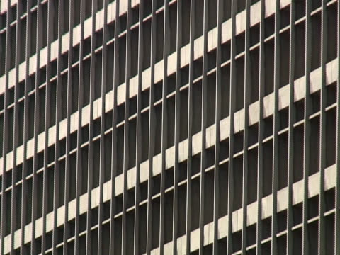 Los Angeles: Downtown Criminal Courts Building, Pull video