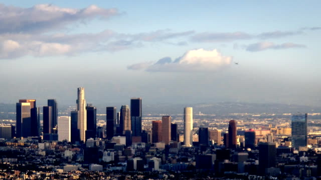 Los Angeles Downtown Skyline Timelapse video