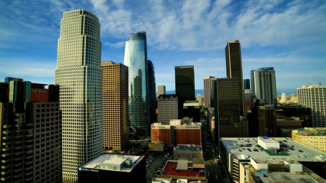 Los Angeles downtown time lapse video