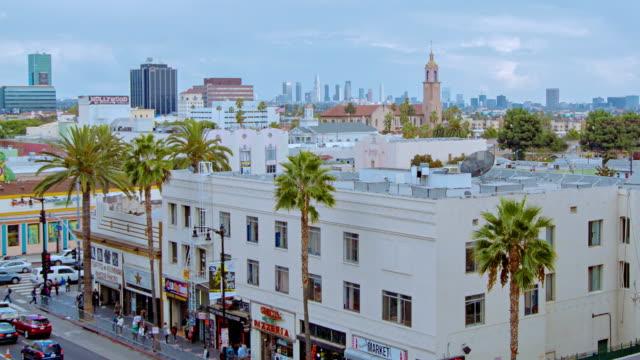 vídeos de stock e filmes b-roll de hollywood, los angeles, - bar local de entretenimento