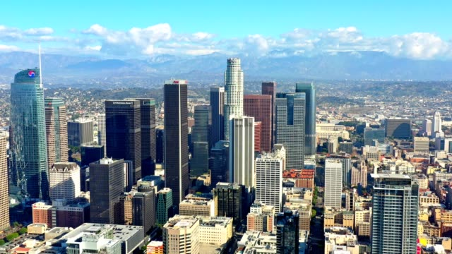 Los Angeles Skyline Aerial