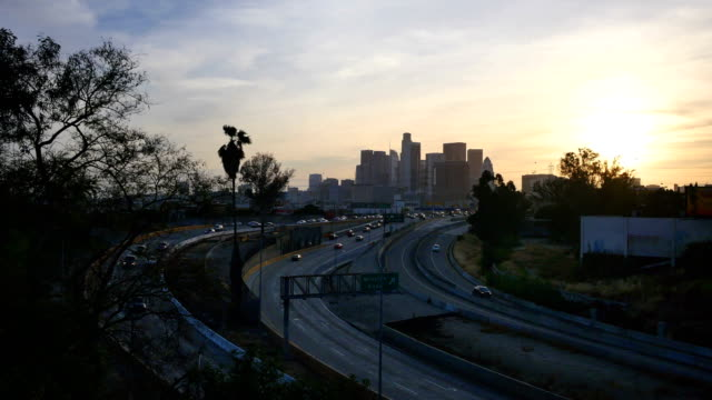 Los Angeles skyline video