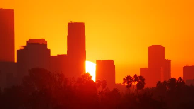 Los Angeles Sunrise Time Lapse video