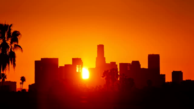 Los Angeles sunrise. video
