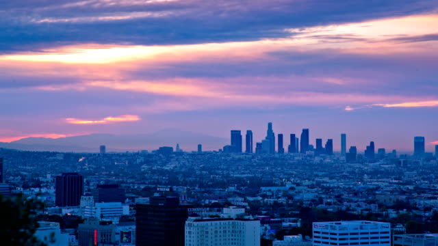 Los Angeles sunrise video
