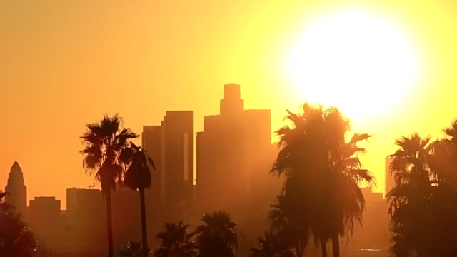 Los Angeles Sunset - HD Stock Video video