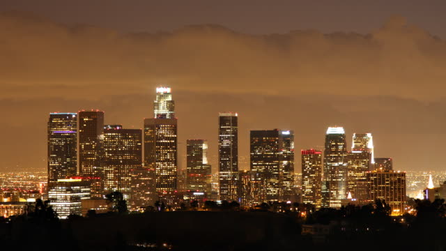 Los Angeles Time Lapse video