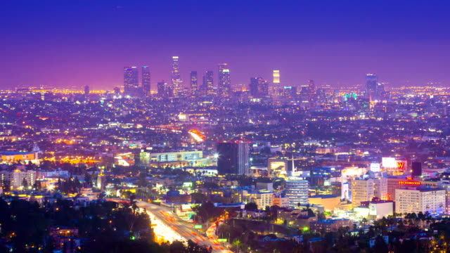 Los Angeles - Timelapse video