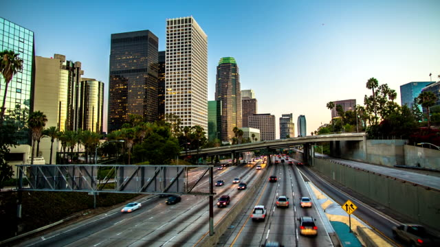 Los Angeles Traffic video