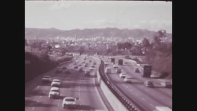 Los Angeles, USA 1979, Los angeles highway 2